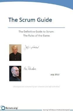 scrum guide 2011