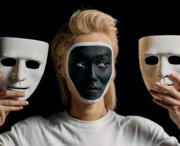 wybór maski scrum mastera